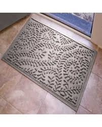 front entrance rug boxwood entryway rug with non slip rubber backing front door mat outdoor indoor