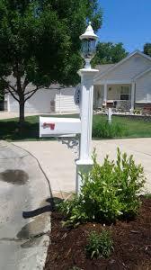 Mailbox With Solar Light Decor Home Decor Outdoor Decor
