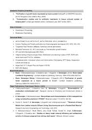 Bioinformatics Resume Sample Download Bioinformatics Analyst Resume Sample As Image File 55