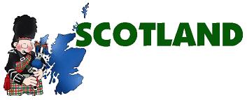 Resultado de imagen de scotland map for kids