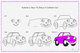 cara menggmbar mobil untuk anak tk yang lucu dan mudah dibuat