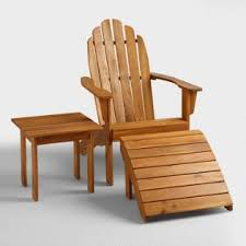 adirondack chairs. Natural Wood Adirondack Outdoor Collection Chairs