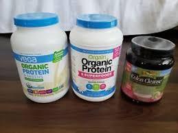 image is loading lot vega orgain organic protien powder and