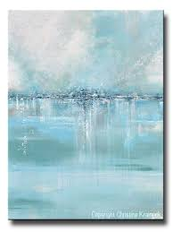 original art abstract painting blue sea foam green grey white textured large canvas coastal wall art on seafoam green canvas wall art with shop abstract paintings original modern canvas wall art page 3