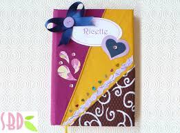 Tutorial: rivestimento ricettario con stoffa cookbook folding