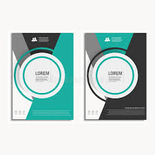 vector leaflet brochure flyer template a4 size design annual report rh dreamstime free book cover design template vector ilration