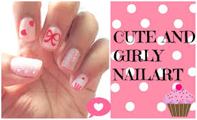 Girly Nail Designs For Short Nails Pin By Natalie P On Nail Art And Designe Nail Designs