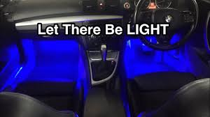 Coloured Interior Car Lights Installing Car Interior Led Lights Interior Lights Multi Colour Changes With Music