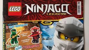 Lego Ninjago Legacy Magazin Nr 6 mit Lloyd & Steinsamurai - YouTube