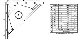 gas corner fireplace dimensions ideas