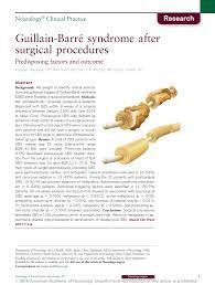 Guillain-Barré syndrome after surgical ...