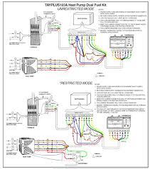 trane xl1200 heat pump wiring diagram to tranetwyxl1400 jpg Thermostat Wiring Diagram For Heat Pump trane xl1200 heat pump wiring diagram and tayplusheatpumpdualfuelkit jpg nest thermostat wiring diagram for heat pump