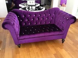 Elegant Purple Sofa - anyone I know like this?