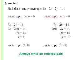 find linear equation find x intercept formula y math linear equations 2 a graphing and intercepts