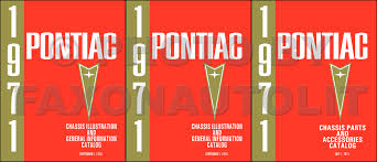 pontiac gto lemans tempest wiring diagram manual reprint 1964 1971 pontiac mechanical parts book reprint set
