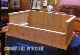 wooden dog bed plans awesome make a dog bed how to blog in how to make