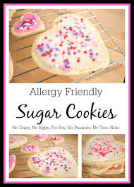 With a bag for you! Allergy Friendly Sugar Cookies No Dairy Eggs Soy Peanuts Tree Nuts Mom Vs Food Al Allergy Friendly Desserts Allergen Free Recipes Allergy Friendly Recipes