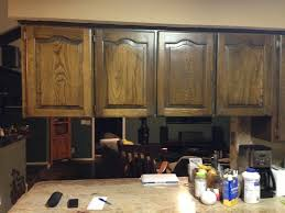 how to clean old kitchen cabinets