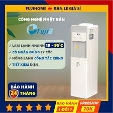Cây nước nóng lạnh cao cấp Fujie WD1850E, bình lọc máy lọc nước nóng lạnh  mini uống an toàn công nghệ Nhật Bản