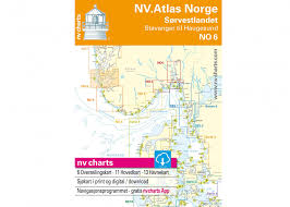 Norway Nautical Charts Download Atlas Norway No6 Sorvestlandet North German Buy Now Svb Yacht And Boat Equipment