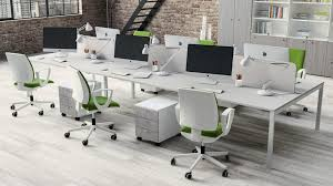 and modern white wooden and numerous white swivel chairs also glass office desk adorable glass top office
