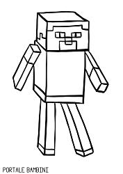Disegni Di Minecraft Da Stampare E Colorare Gratis Portale Bambini