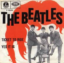 ticket to ride the beatles wiki fandom powered by wikia tickettoridesingle ticket to ride single