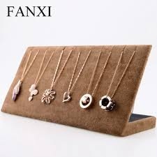 Wooden Jewellery Display Stands Adorable Fanxi China Factory Wooden Jewelry Display Stand With 32 Hooks Coffee