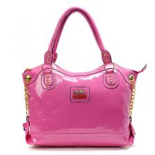 Coach Legacy Pinnacle Lowell Large Pink Satchels ADS