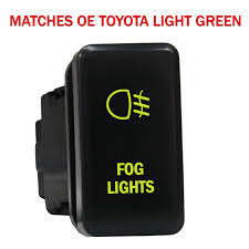 Fj Cruiser Fog Lights Oem 12 Volt 3amp On Off Toyota Oem Replacement Push Switch With