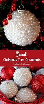 Diese Perlen Christbaumschmuck Sind Ein Spaß Handwerk Das