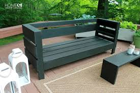 diy build it yourself outdoor sofa