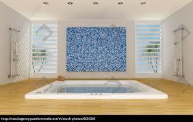 Moderne Luxus Badezimmer Lizenzfreies Bild 6659303