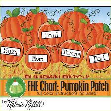 Pumpkin Patch Fhe Assignment Chart Printable Assignment