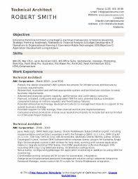 Resume Examples Architect Technical Architect Resume Samples Qwikresume