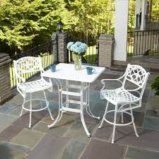 Pub Style Kitchen Table Sets Furniture Enjoy Your Dining Time With Bistro Table And Chairs