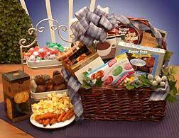 here s a hard to find gift for the diabetic or for the ter the simply sugar free gift basket brings goos and treats for the person who must remain