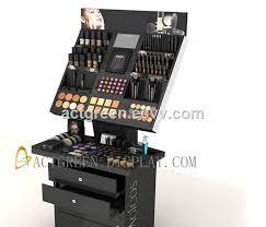 Make Up Stands And Displays Impressive Custom Cosmetic Display Stand Makeup Cosmetic Display Stand