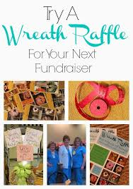 things to raffle off at a fundraiser wreath raffle a fundraising idea miss kopy kat