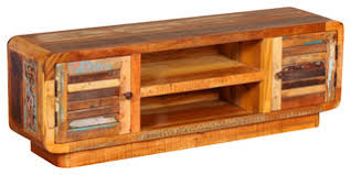 VidaXL Solid Reclaimed Wood <b>TV Cabinet</b>, <b>120x30x40</b> cm - TV ...