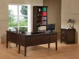 cozy contemporary home office. create cozy u shaped office desk zone home ideas collection throughout glass u2013 contemporary furniture t