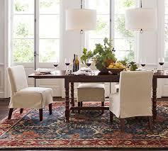 channing persian style rug indigo pottery barn