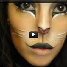 kitty cat makeup