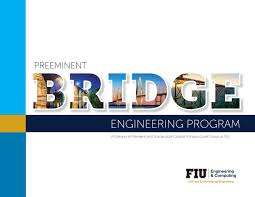 Fiu Construction Management Flow Chart Preeminent Bridge Engineering Program By Cee Department Issuu
