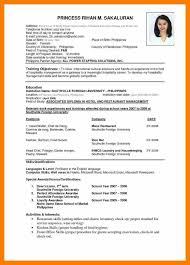 9 Curriculum Vitae Sample Pdf Hvac Resumed