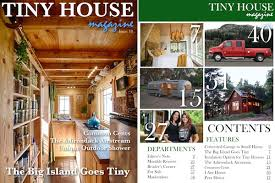 tiny house reviews. Tiny House Magazine Issue 18. Cover And Index Reviews