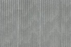 Corrugated galvanized steel resists rust better than some other