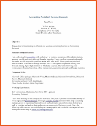 12 Cv Assistant Accountant Hvac Resumed
