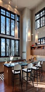 Kitchen Patterns And Designs Big Style In Small Spaces High Ceilings Black Tiles And Patterns