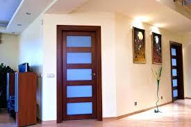 white trim wood door cottenme